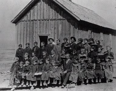 Pioneers Were Prompt to Start Education in Deseret Territory