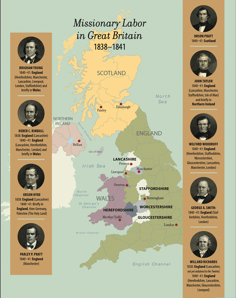 The Enduring Influence of the Mission to the British Isles