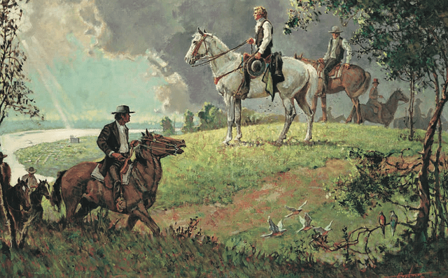 The Man on the White Horse